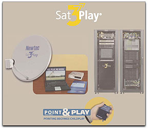Sat3Play graphic (Newtec)