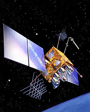 USAF GPS II-R satellite