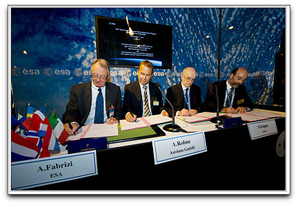 ESA signs engine thruster contracts