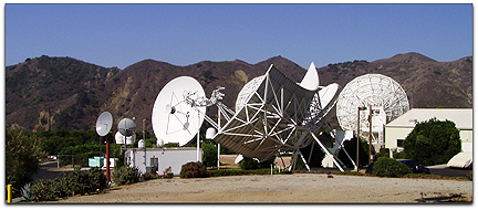 Thrane & Thrane Earth station photo