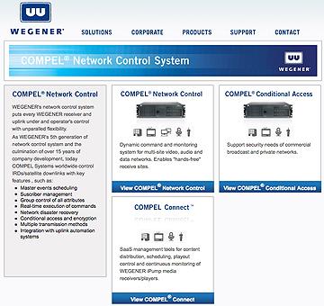 Wegener network homepage
