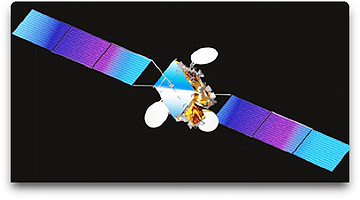RASCOM-QAF 1R satellite