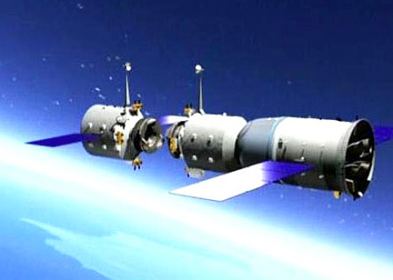 Noticias Espaciales China_Tiangong-1
