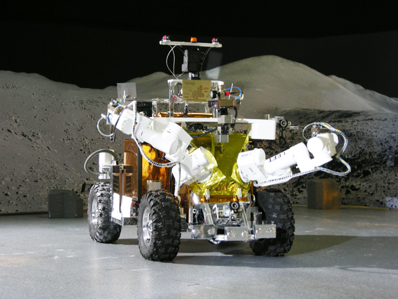 Thales Alenia Space robot and mobile platform