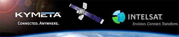 kymeta and intelsat are partners NOW e3 systems