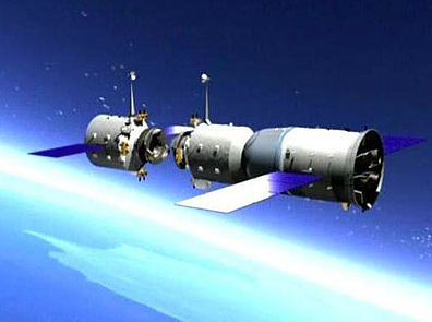chinese space station set to crash into earth