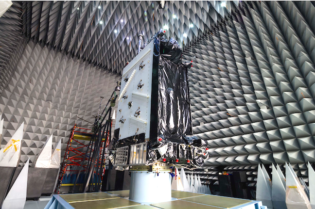 Photo Of The First Gps Iii Satellite In Environmental Testing At Lockheed Martins Facility Near Denver