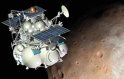 Satelit Gagal Phobos-Grunt akan Jatuh Minggu Depan