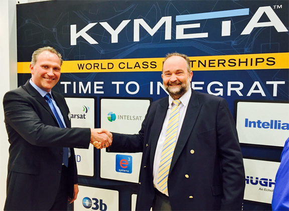eS systems and kymeta partnership for maritime